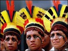 Urubu-Kaapor tribesmen, AP