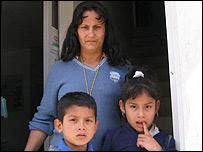 Desplazados en la localidad de Soacha, Colombia