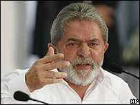 Presidente de Brasil, Luiz Inácio Lula da Silva