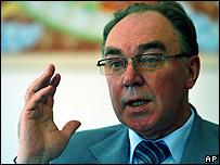 Embajador ruso en La Paz, Leonid Golubev