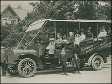 Barton bus from 1908