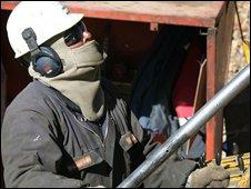 Xstrata drill operator, corporate picture