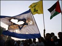 تظاهرة مناهضة لاسرائيل في البحرين
