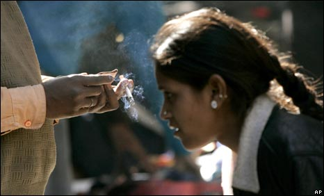 Passive smoking in India