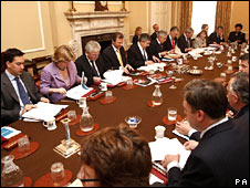 Gordon Brown's first Cabinet