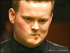 Shaun Murphy in action