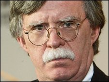 America's former UN ambassador John Bolton in New York in October 2006