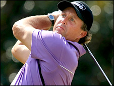 World number two Phil Mickelson