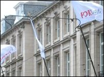 Fortis bank HQ
