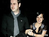 Danny Dyer and Lily Allen