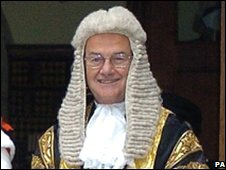 The Lord Chief Justice Lord Judge
