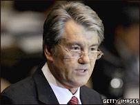 Президент Украины Виктор Ющенко (фото 24 сентября)