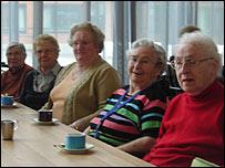 "Residentes de ""Hooge Platen"" en Breskens, Holanda"