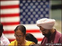 Церемония получения американского гражданства