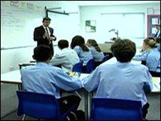 A school class