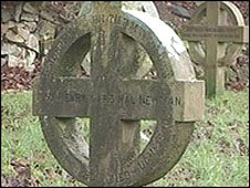 Cardinal Newman's grave