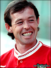 Brian Flynn during his 12-year stint as Wrexham manager