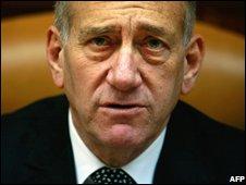 Israeli PM Ehud Olmert (28/09)