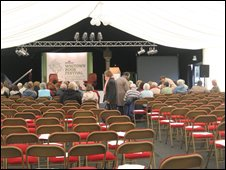 Book town marquee