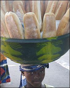 Baguette seller