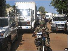UN food convoy