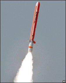 Pakistani ballistic missile