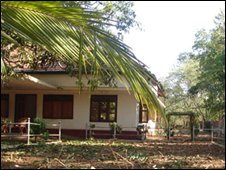 Tamil Tiger peace secretariat in Kilinochchi
