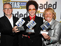 Harry Enfield , Paul Kaye and Leigh Francis