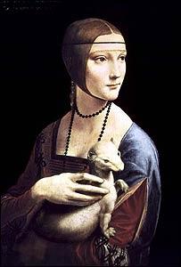 La Dama con Armiño, Leonardo da Vinci