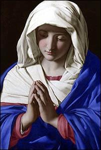 La Virgen Orando (Foto: Galería Nacional, Londres)
