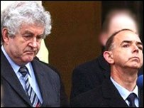 Rhodri Morgan a Nick Bourne