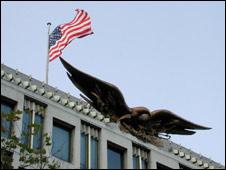 US embassy in Mayfair's Grosvenor Square