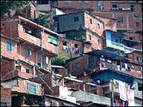 Barrio en Caracas