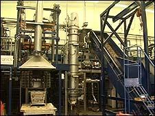 Gas plasma plant