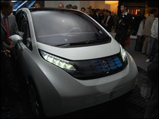 Pininfarina's electric car, the B0