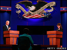 Joe Biden and Sarah Palin debate (3 October 2008)
