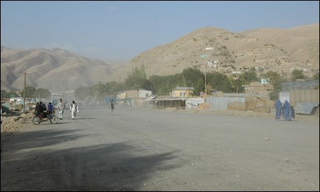 Fayzabad, the capital of Badakshan province