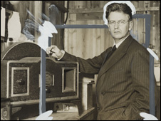 John Logie Baird, courtsey of the National Media Museum Collection