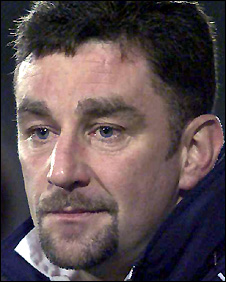 Aldridge pictured during his last job in football management with Tranmere in 2001