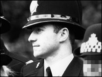 Mark Daly in police uniform