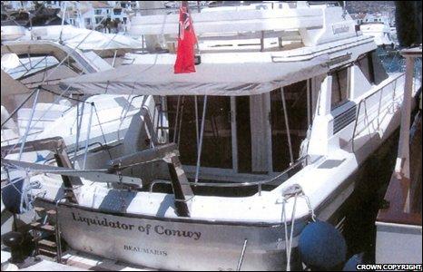 A boat beginning to Craig Johnson.