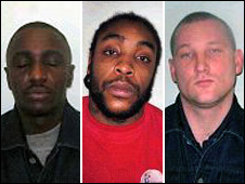 Leroy Hall, Leon McKenzie and Brian Henry all pleaded guilty