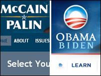 Campaign websites