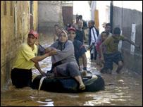 الفيضان في غردايه