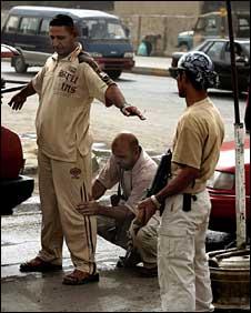 Awakening Council members in Baghdad