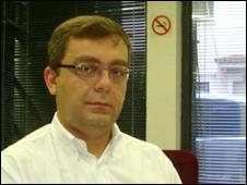 Rogerio Schmitt, a political analyst from Tendencias consultancy