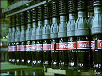 Botellas de Coca Cola