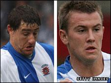 Joel Porter and Simon Cox both scored hat-tricks