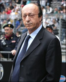 Former Juventus football club director Luciano Moggi (image from 2006)