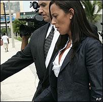 Mar�a Luj�n Telpuk, ex agente de polic�a aeroportuaria argentina